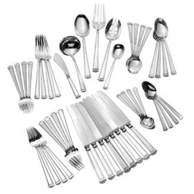 Tuttle Pantheon 46 Piece Dinner Flatware Set