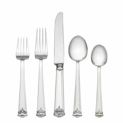 Tuttle Trianon 5 Piece Dinner Flatware Set