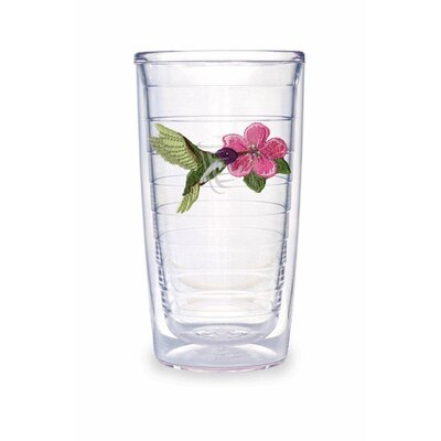 Tervis Tumbler Hummingbird 16 oz. Purple Tumbler (Set of 4)