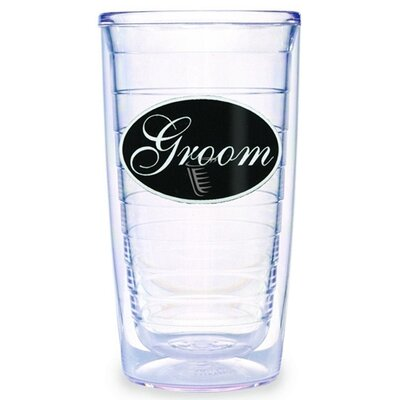 Groom Twill 16 oz. Tumbler (Set of 4)
