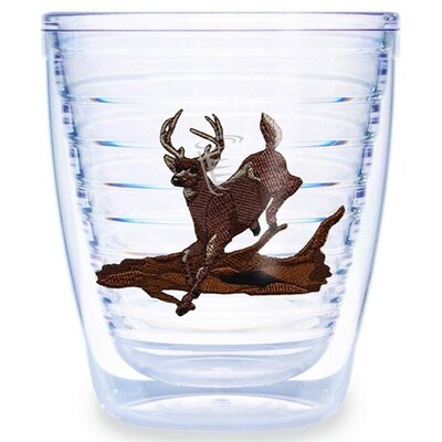 Deer Running 12 oz. Tumbler (Set of 4)