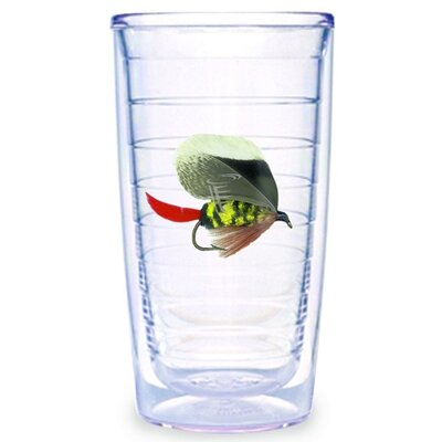 Tervis Tumbler Fish Flies Brown 16 oz. Tumbler (Set of 4)