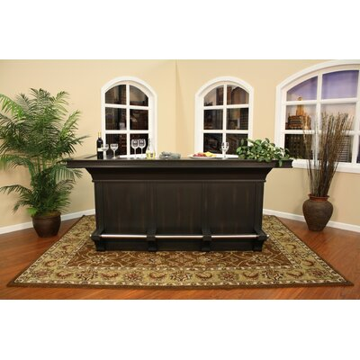"American Heritage Calcutta 95.5"" Home Bar"