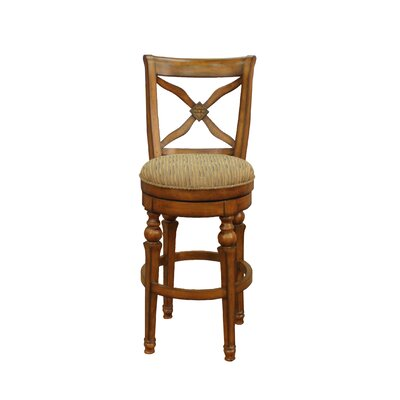 "American Heritage Livingston 26"" Swivel Bar Stool"