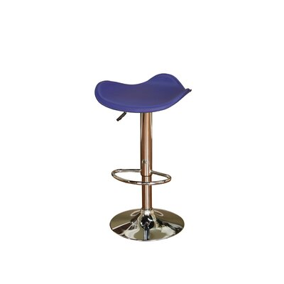 "American Heritage Sloan 30"" Bar Stool with Blue Cushion"
