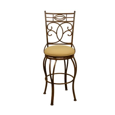 "American Heritage Belleview 30"" Swivel Bar Stool"