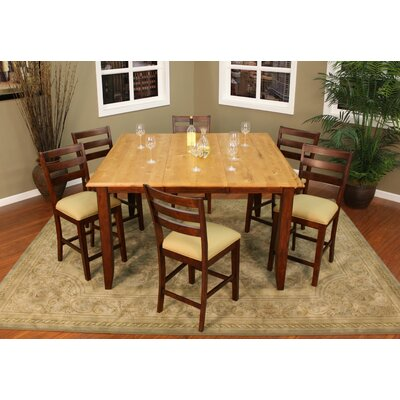 American Heritage Andria 7 Piece Counter Height Dining Set