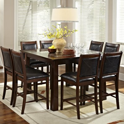 American Heritage Granita 9 Piece Counter Height Dining Set