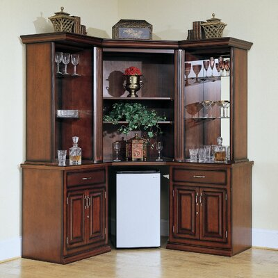 American Heritage Augustine Corner Bar/Entertainment Center