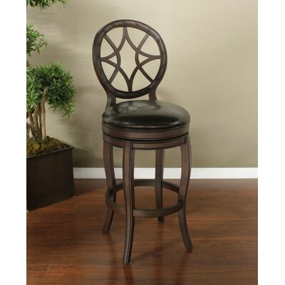 Santiago Bonded Leather Stool