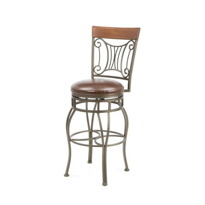 "American Heritage Helena 30"" Swivel Bar Stool"