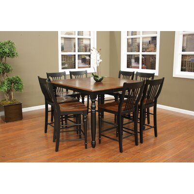 American Heritage Berkshire 9 Piece Counter Height Dining Set