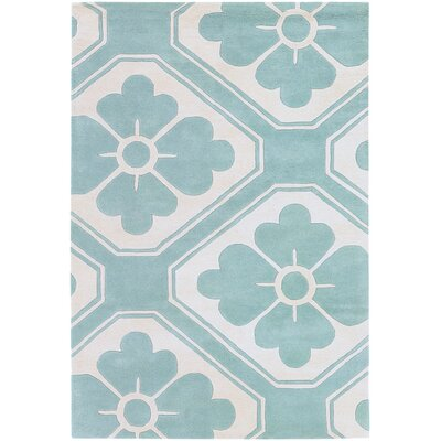 Tufted Pile Blue Obi Rug
