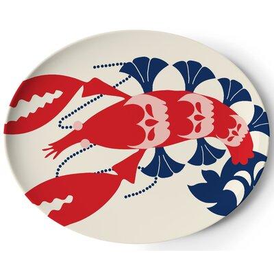 "Thomas Paul Amalfi 12.75"" Oval Platter"
