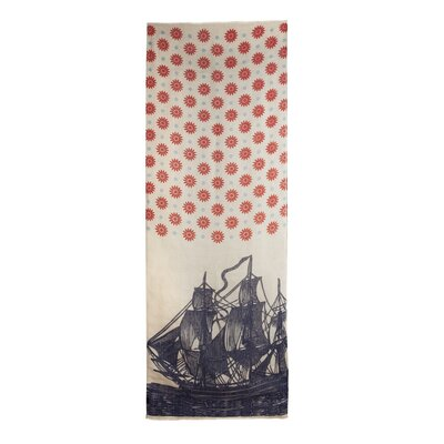 Thomas Paul Vineyard Ship Linen Scarf