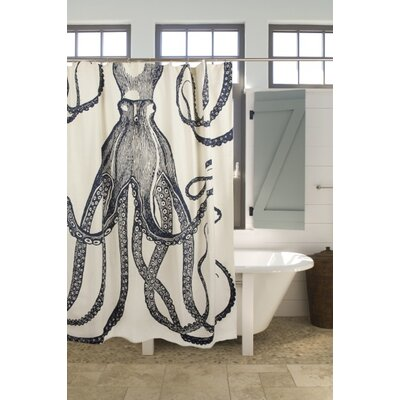 Bath Octopus Shower Curtain