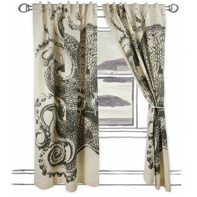 Thomas Paul Octopus Window Curtain