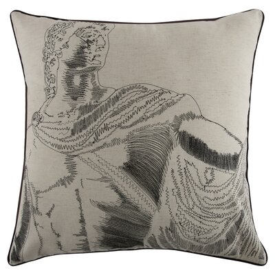 Grand Tour Roma Embroidered Pillow