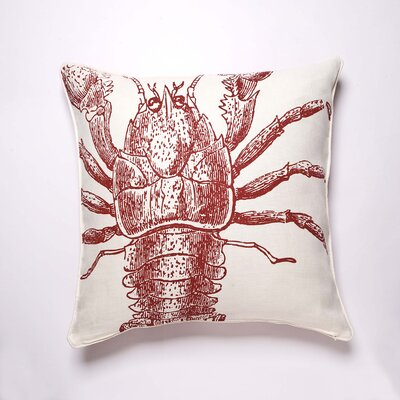 Thomas Paul Sea Life Pillow Lobster Pillow