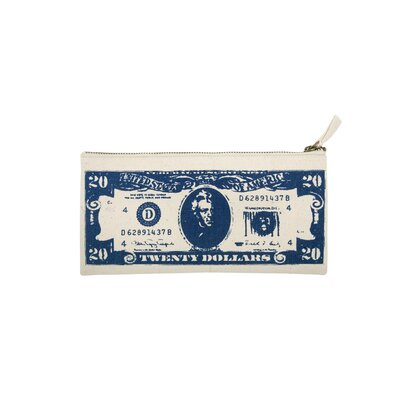 Thomas Paul Big Business Dollar Pouch in Blue