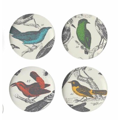 Thomas Paul Ornithology Dessert Plate (Set of 4)