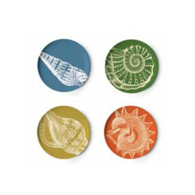 Thomas Paul Sea Life Coaster Dish (Set of 4)