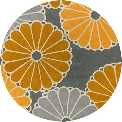 Thomas Paul Tufted Pile Dove/Gold Parasols Rug