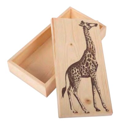 Thomas Paul Giraffe Pine Box