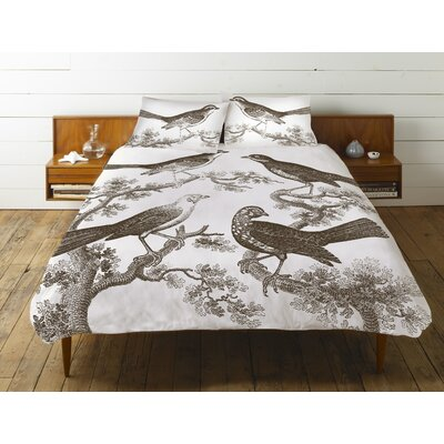 Ornithology Cotton Duvet Cover