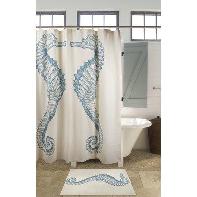 thomas paul sea horse shower curtain allmodern