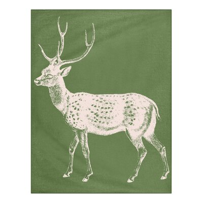 Thomas Paul Baby Deer Alpaca Throw