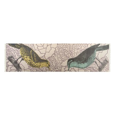 Thomas Paul Birds Wool Scarf