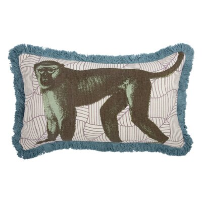 Menagerie Monkey Pillow