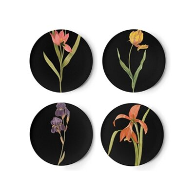 Thomas Paul Florilegium Dessert Plate (Set of 4)