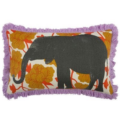 Elephant 12x20 Pillow