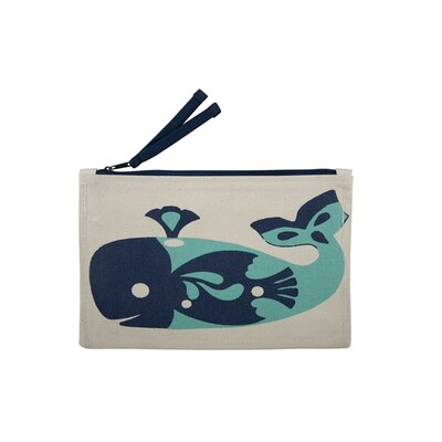 Thomas Paul Whale Zip Pouch