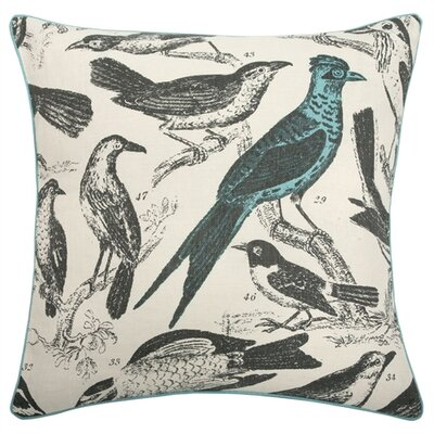 "Thomas Paul 22"" Ornithology Pillow"