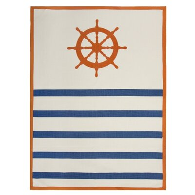Thomas Paul Wheel Tea Towel