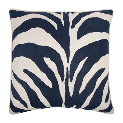 "Thomas Paul 22"" Zebra Pillow"