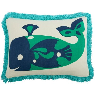 Thomas Paul Amalfi Whale 12x20 Pillow