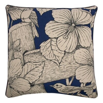 "Thomas Paul 22"" Hibiscus Pillow"