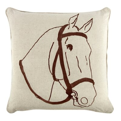 "Thomas Paul 18"" Thoroughbred Pillow"
