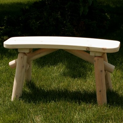 Moon Valley Rustic Wood Picnic Bench