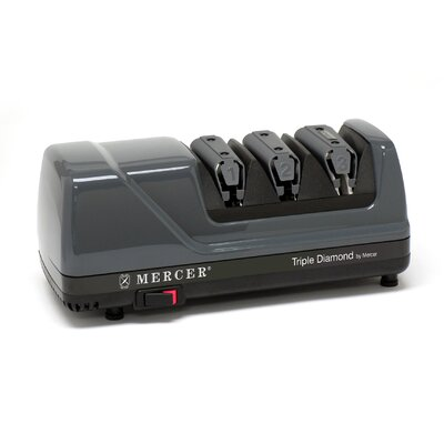 Mercer Cutlery Triple Diamond 3 Stage Knife Sharpener