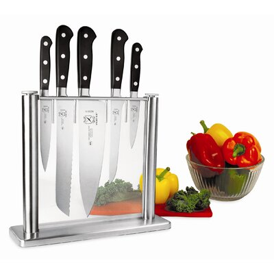 Mercer Cutlery Renaissance 6 Piece Forged Knife Block Set