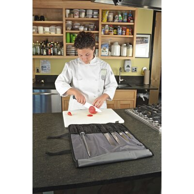 Mercer Cutlery Genesis 7 Piece Forged Knife Roll Set