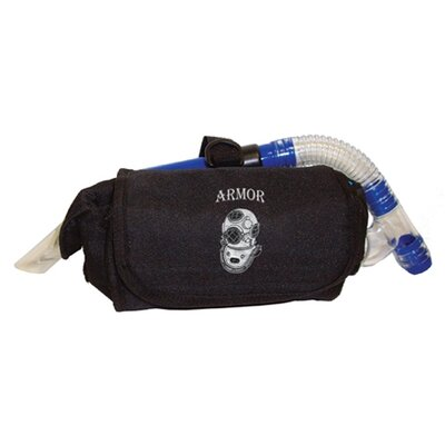 Armor Bags Mask Pouch Bag in Black