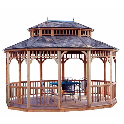 Handy Home Monterey 10' W x 14' D Gazebo