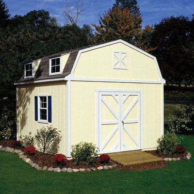 Handy Home Premier Series Sequoia Wood Storage Shed