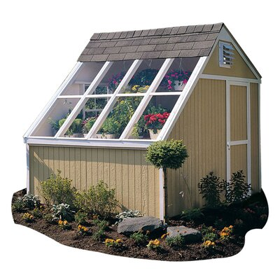 Handy Home Phoenix Solar Wood Garden Shed